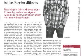 Portrait über Reto Nägelin, Bluesdiakon